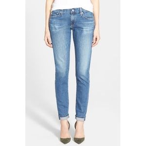 AG 'The Nikki' Relaxed Skinny Jeans Midwash